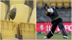 Nz Vs Aus T20 Sky Stadium Ceo Requested Glenn Maxwell To Sign The Seat That He Broke With A Six