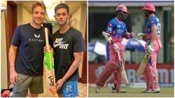 Ipl 2021 Rajasthan Royals Player Jos Buttler Gave A Gift To Opening Partner Yashasvi Jaiswal