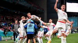 Euro Cup 2021 Belgium Group Winners Denmark Qualifies As Runner Up After Win Against Russia
