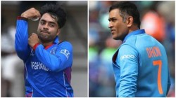Rashid Khan Opens Up The Advice He Received From The Former Indian Skipper Ms Dhoni