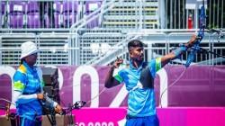 Olympics 2021 Indian Pair Deepika Kumari And Pravin Jadhav Bows Out Of Mixed Team Archery Event