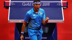 Olympics 2021 India S Achanta Sharath Kamal Enters Pre Quarter Final In Table Tennis