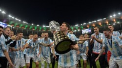 Copa America 2021 Lionel Messi Ends His Wait For A Trophy With Argentina After Beating Brazil