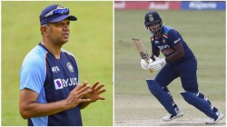 Ind Vs Sl Not Easy To Bat In This Pitch Indian Coach Rahul Dravid Opens Up Sanju Samson Batting