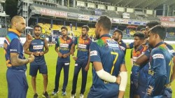 Ind Vs Sl Dasun Shanaka Reveals What Dhawan Talk With Sri Lankan Team After Third T