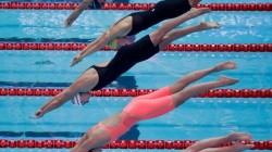 Olympics 2021 Chinese Women Swimmers Win Gold Medal In 4x200 Meter Freestyle Category And Made Recor