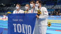 Olympics 2021 Us Men S Team Set New World Record In 4 100 Medley Relay In Swimming