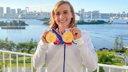 Olympics 2021 Usa Great Katie Ledecky Wins Her Sixth Individual Gold Medal In Women S Swimming