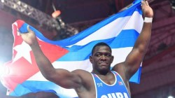 Olympics 2021 Cuba S Mijain Lopez Creates History After Winnig 4th Consecutive Medal In Wrestling