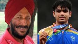 Olympics 2021 Neeraj Chopra Fulfils Milkha Singh S Dream In Style After Creating History