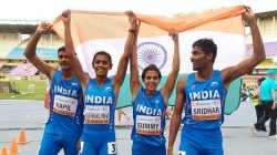 Indian Team Won Bronze In 4 400 Mixed Relay Event In Under 20 World Athletics Championship