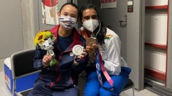 Olympics 2021 Pv Sindhu S Encouragement Made Me Cry Reveals Silver Medalist Tai Tzu Ying
