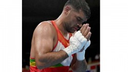 Olympics 2021 India S Satish Kumar Beaten By Bakhodir Jalolov In Men S Boxing Quarter Final