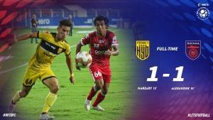ISL 2020-21: ഹൈദരാബാദിനെ സമനിലയില് തളച്ച് ഒഡീഷ