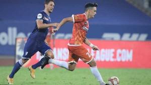 ISL 2020-21: സൂപ്പര് സബ് പണ്ഡിറ്റ ഹീറോ, ഇഞ്ചുറിടൈം ഗോളില് ചെന്നൈയെ കുരുക്കി ഗോവ