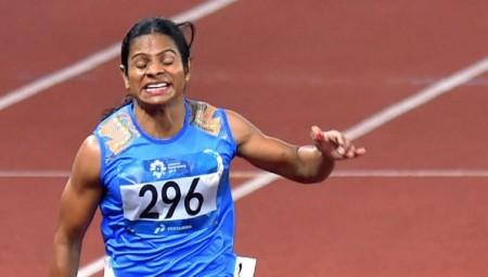 Olympics 2021: വീണ്ടും നിരാശ, 100 മീറ്റര് ഓട്ടത്തില് ദ്യുതി ചന്ദ് ഏഴാമത്